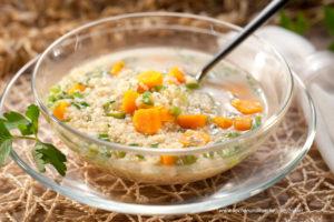 Braunhirse - Hirse-Kürbis-Suppe