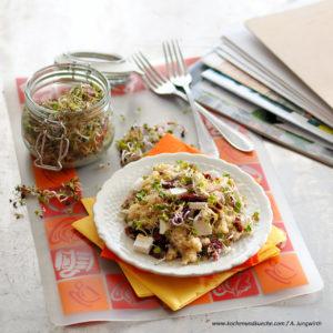 Vegane Ernährung Vorteile - Quinoa-Pilz-Gröst'l